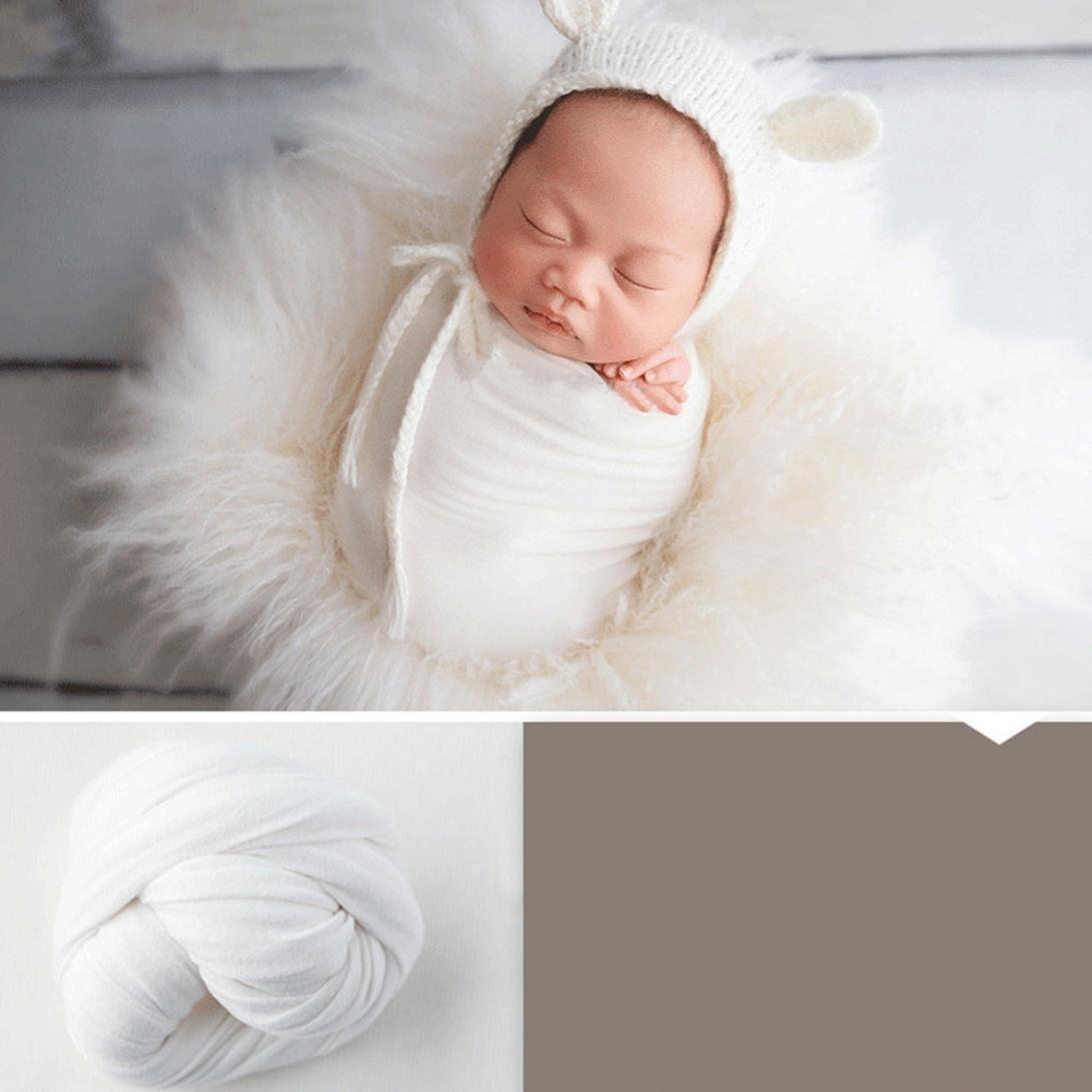 Amazon com newborn wrap baby photo props iuhan newborn baby boy girl wrap photography prop baby photo prop white beauty