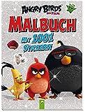 Angry Birds - Malbuch mit 1001 Stickern: Ab 4 Jahren