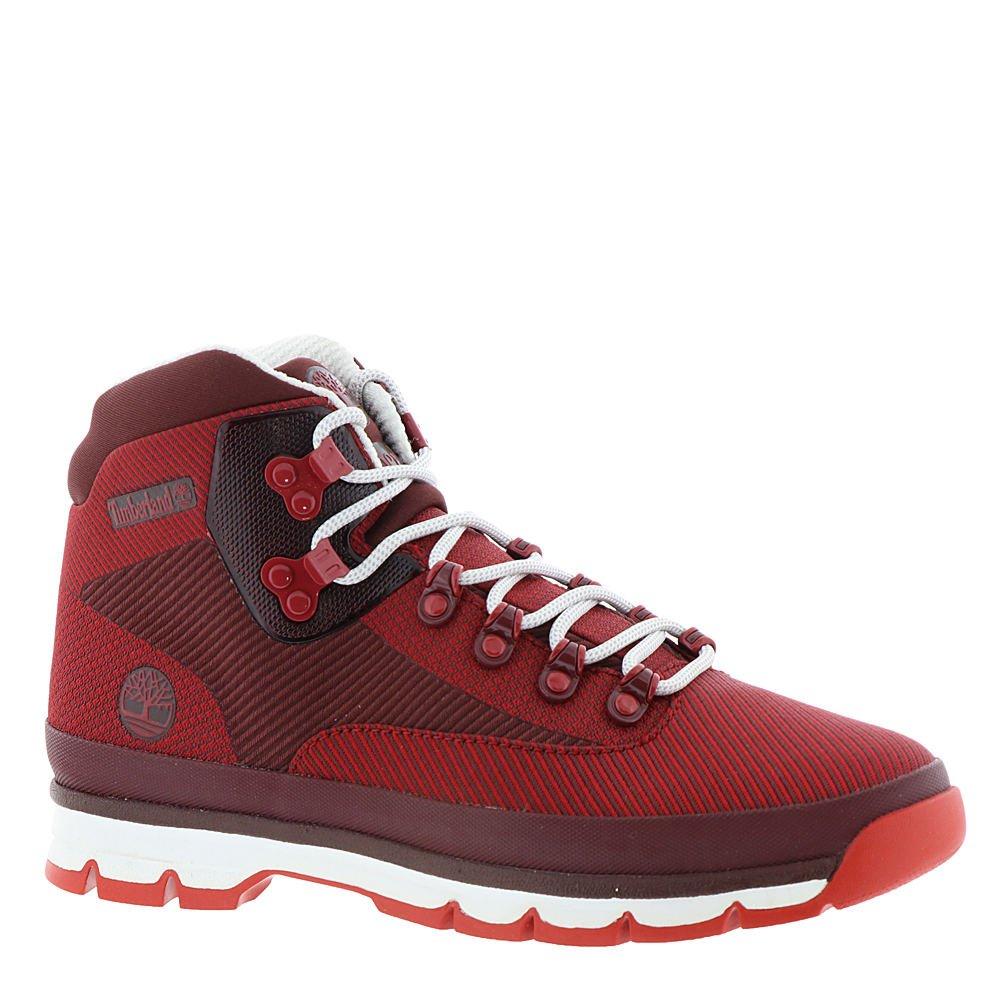 da870e394b3 Timberland Euro Hiker Jacquard Medium Red Jacquard Mens Lace-Up Boots Size  11M
