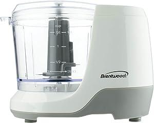 Brentwood Appliances Mc-109w 1.5-Cup Mini Food Chopper (White)
