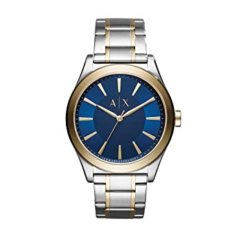 c52974a9512 Image Unavailable. Image not available for. Color  Armani Exchange Men s  Dress Silver Watch AX2332