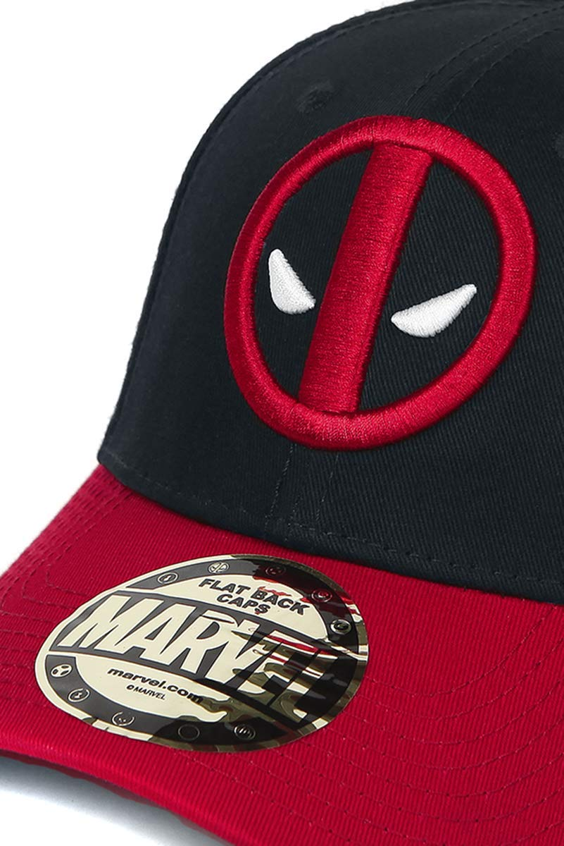 Deadpool Logo Gorra de beisbol negro/rojo: Amazon.es: Deportes y aire libre