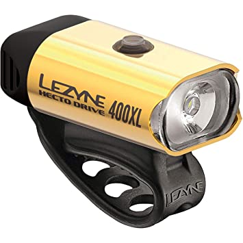 LEZYNE Hecto Drive 400XL Multi-Purpose Performance LED Cycling Light Up to 400 Lumens