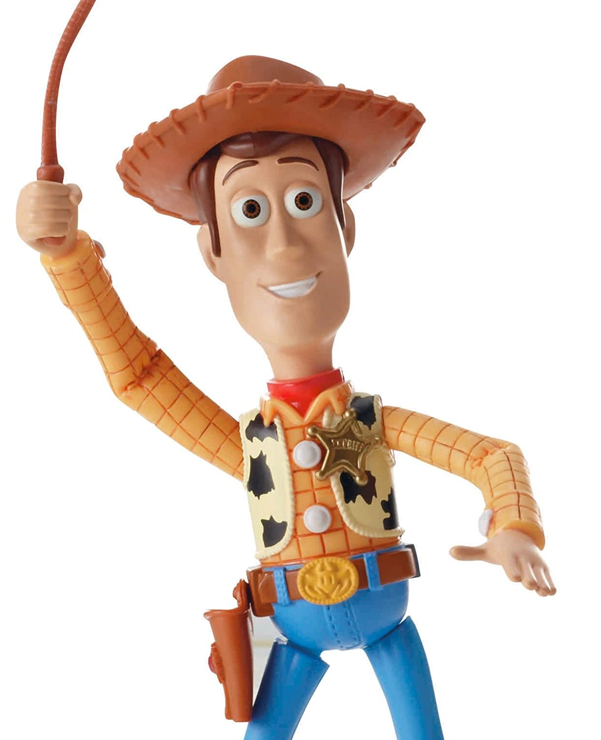 sherif woody figurine deluxe toy story 15 cm de mattel. Black Bedroom Furniture Sets. Home Design Ideas