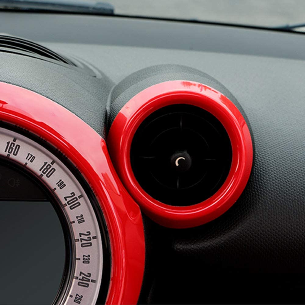 accessoires de style dint/érieur de voiture couvercle de d/écoration de console centrale HKPKYK D/écoration de climatiseur de voiture,Pour Mini Countryman R60 Cooper S