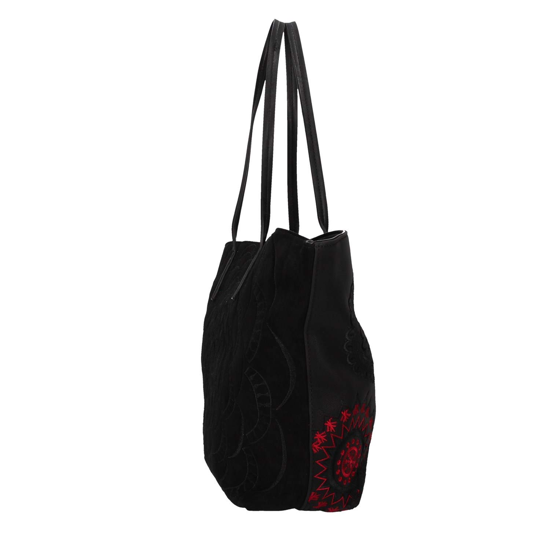 Grand sac cabas ethnique femme en simili cuir Comunika Desigual taille 29.5 cm 19waxpd9