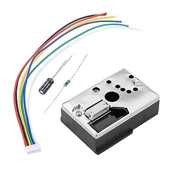 Módulo detector de sensor de polvo PM2.5 Módulo de sensor de partículas de polvo