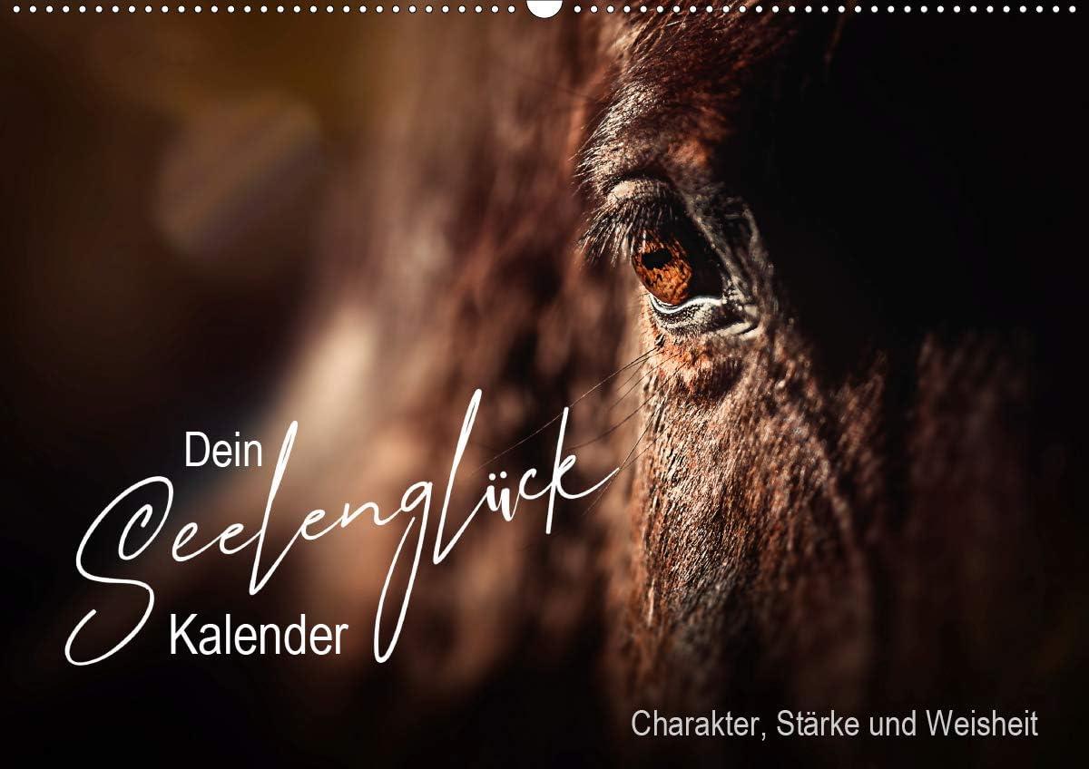 Seelenglück Kalender - Charakter, Stärke, Weisheit (Wandkalender 2021 DIN A2 quer): 12 Seelenglück Tiere begleiten Sie mit Charakter, Stärke und ... kommendes Jahr! (Monatskalender, 14 Seiten )