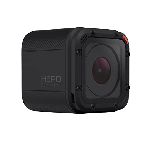 GoPro Hero Session - Videocámara Deportiva de 8 MP (1040p, ISO 400-1600, 1030 mAh), Color Negro (versión Italiana)