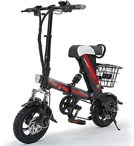 Gaoyanhang Adulto Inteligente Plegable Bicicleta eléctrica Mini ...