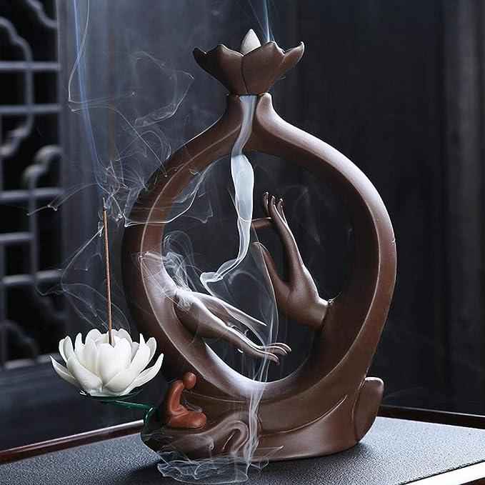 kushclips homer buddha  incense holder