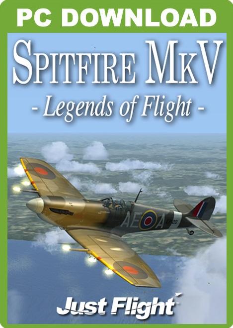 Spitfire Mk V - Legends of Flight [Download]