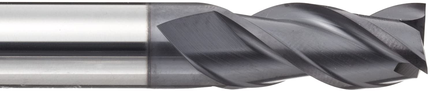 YG-1 EM895 Carbide Square Nose End Mill Metric Non-Center Cutting 20mm Shank Diameter 3 Flutes 38 Deg Helix TIALN Multilayer Finish 92mm Overall Length 20mm Cutting Diameter