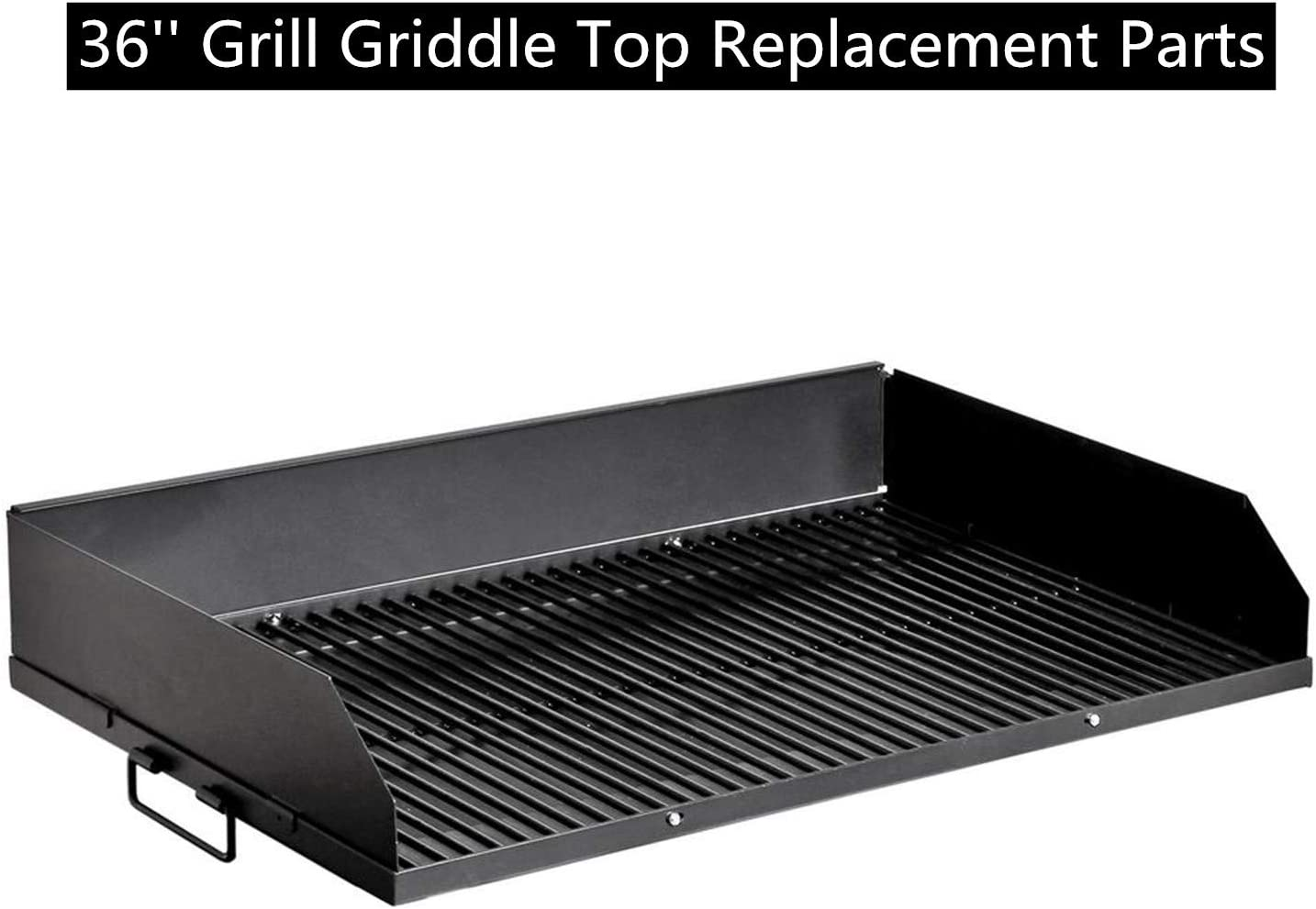 """Camping Stove Great for Hunting Portable Gas Grill and Griddle Combo Blackstone Grills Tailgater Two Open Burners /"""" Griddle Top Barbecue Box Fishing Adjustable Legs Renewed Tailgating and More"""