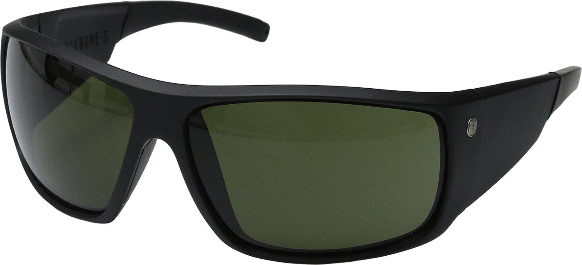 Electric Unisex Backbone S Sunglasses, Matte Black/Melanin Grey, One Size