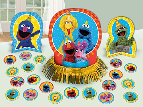 amscan Table Decorating Kit | Sesame Street Collection | Party Accessory]()
