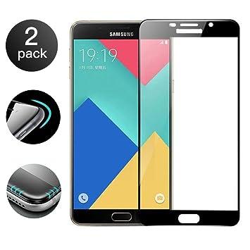 2 Unidades]Samsung Galaxy A5 2017 Protector de Pantalla[Cobertura ...