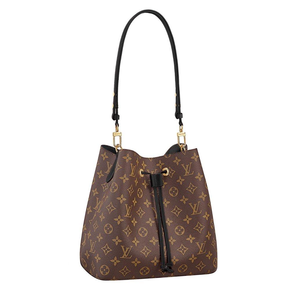 ec819e38d84d Amazon.com  Louis Vuitton Monogram Canvas Neonoe Adjustable Strap Handbag  Article M44020 Made in France  Shoes