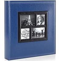 Ywlake Album de Fotos 10x15 600, Grande Tradicional Tipico Original Cubierta de Cuero Album Fotos Horizontal y Vertical…