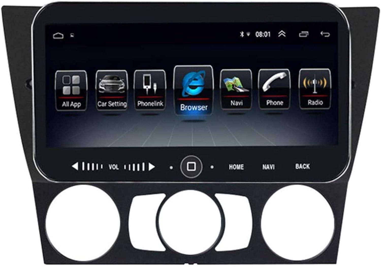 Sistema de navegación de Radio estéreo de automóvil para Android BMW E90 2005-2013 Doble DIN Bluetooth cinturón de Enlace de Radio USB estéreo del Coche del Espejo de tráfico Sygic GPS Na.
