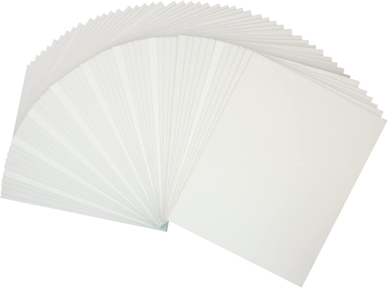 Golden State Art, Pack of 50 8x10 Backing Boards