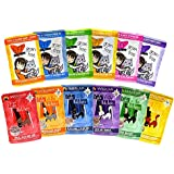 Weruva Cats in The Kitchen & Best Feline Friend Grain Free Cat Food Variety Pack - 12 Great Flavors - 3 Ounces Each (12-Pack) Grain Free Wet Cat Food Pouches