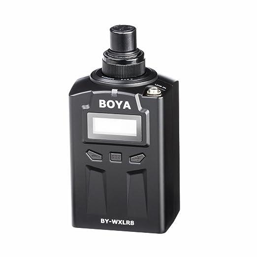 17 opinioni per BOYA BY-WXLR8 Trasmettitore audio XLR a innesto con display LCD per il sistema