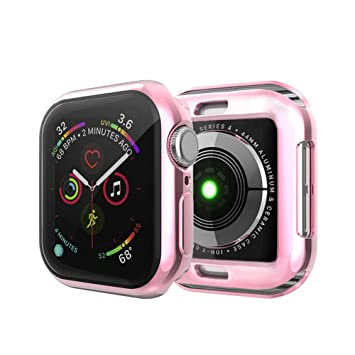 IvyLife Funda para Apple Watch 40mm Carcasa para iWatch Serie 4 Funda Suave para iWatch, Carcasa Protección de Pantalla de Apple Watch, TPU Cubierta ...