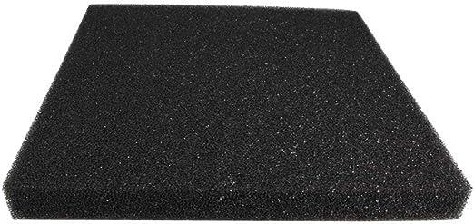 Dimart XY-1038 - Depósito de Acuario Reutilizable con Filtro de algodón bioquímico y Esponja de Espuma para Estanque de Peces, Color Negro: Amazon.es: Productos para mascotas