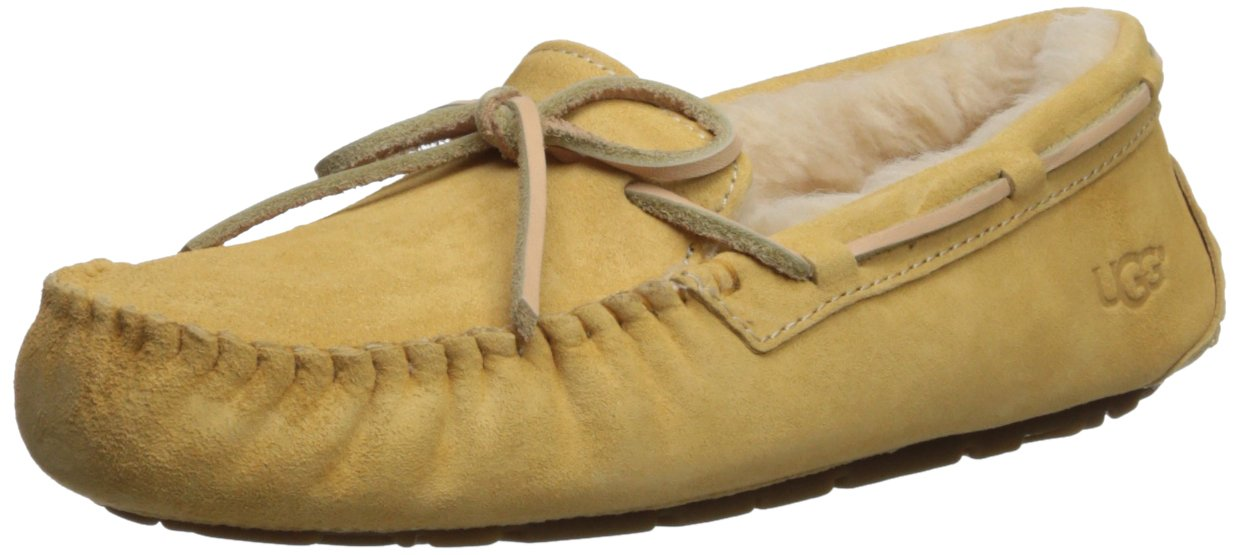 UGG Women's Dakota Slipper, Sunflower, 5 M US