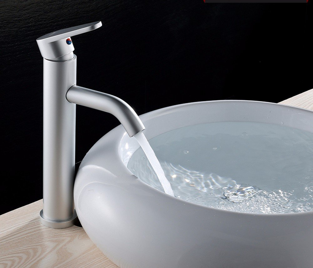 AWXJX Aluminum basin hot and cold Single Single Hole water taps
