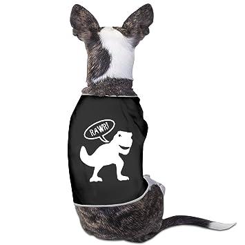 Perchero de perro taza de dinosaurio T-Rex gráfico: Amazon ...
