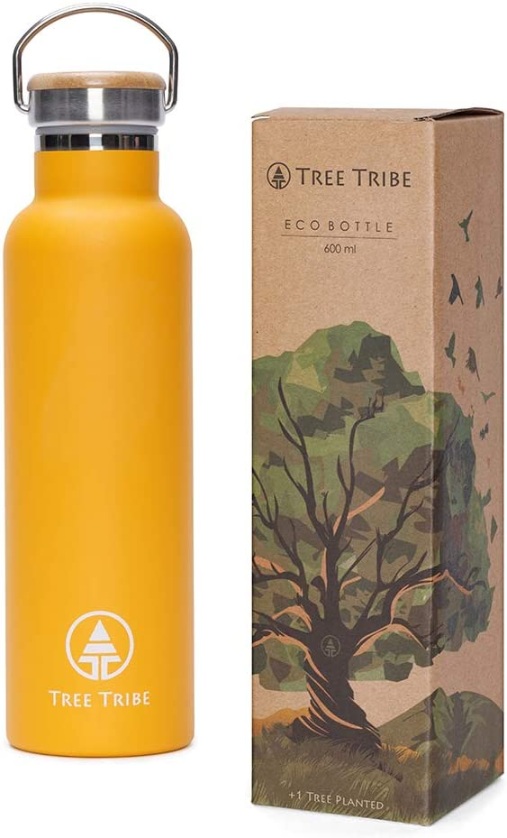 Tree Tribe Stainless Steel Water Bottle