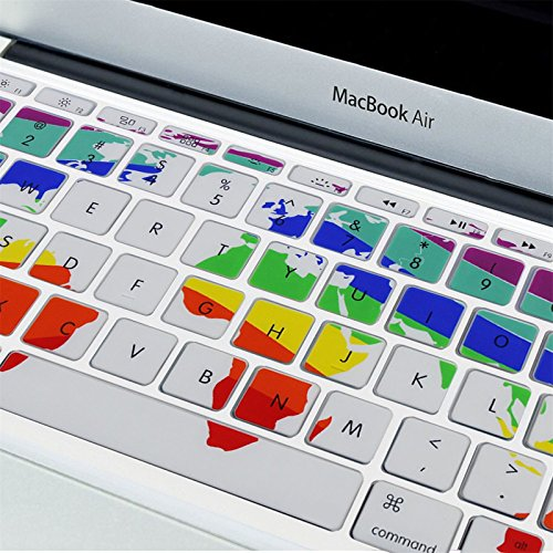 Well wreapped allytech ultra thin silicone rubber keyboard skin well wreapped allytech ultra thin silicone rubber keyboard skin cover for macbook air 11 gumiabroncs Gallery