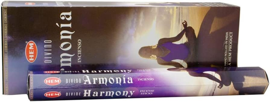 Divine Harmony - Box of Six 20 Gram Tubes - HEM Incense