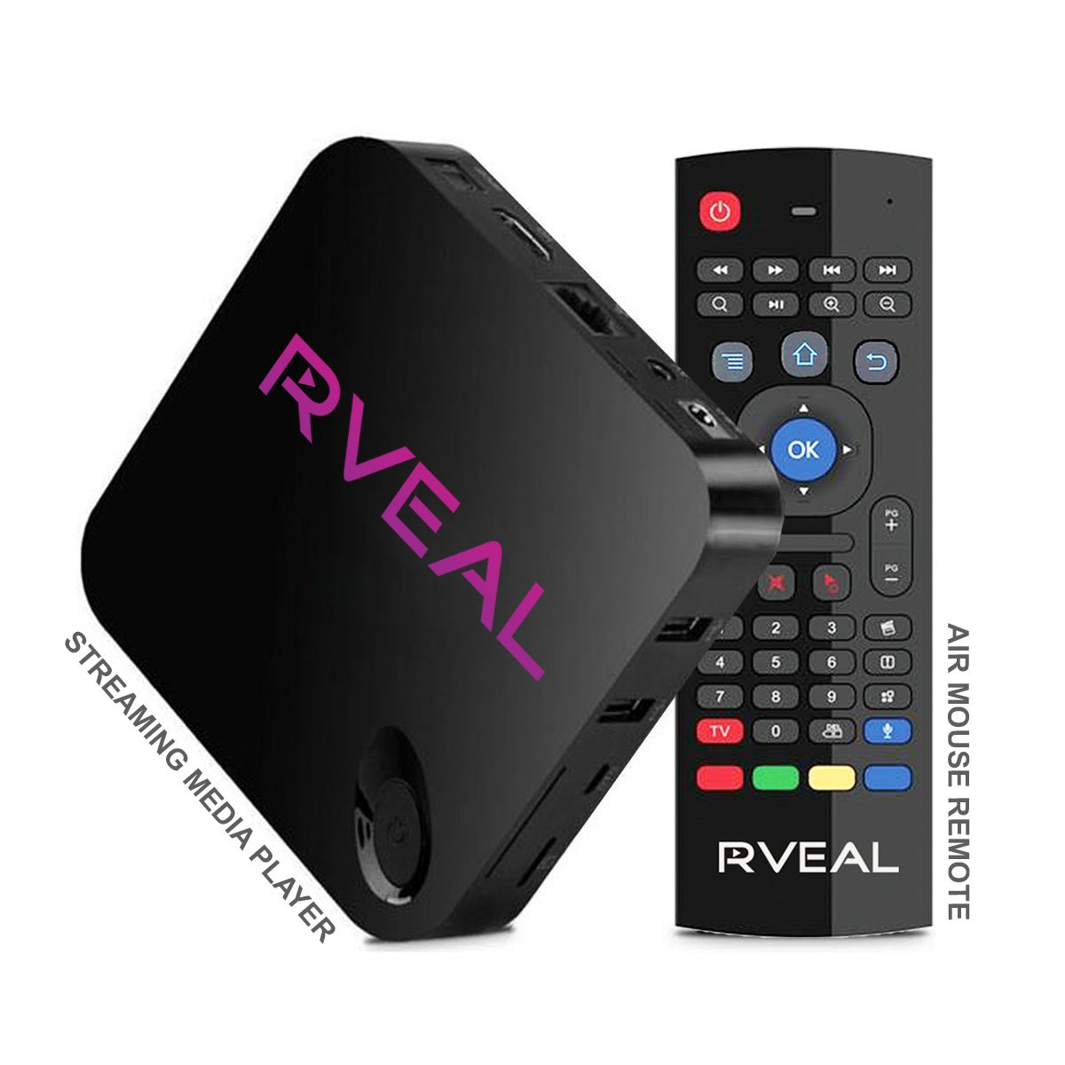 Rveal Streaming Media Player & Air Mouse Remote