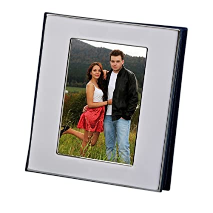 Silver Colour Free Standing Flip Album Holds 50 Of 6 X 4 Inch