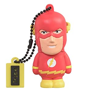 Tribe DC Comics Warner Bros. Pendrive Figure 8 GB Funny USB Flash Drive 2.0, Keyholder Key Ring, Flash (FD031406)