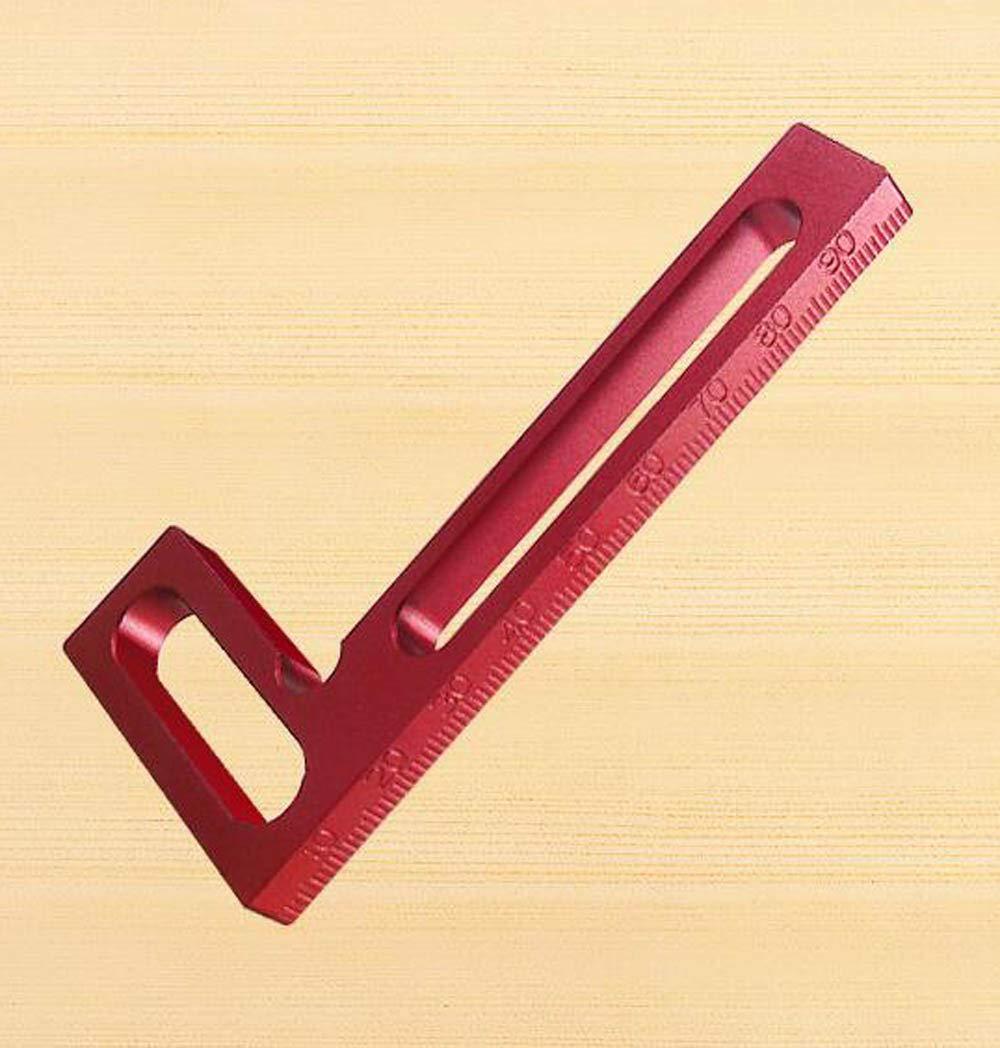 10 cm armoires outils pour cadres Carr/és de positionnement /à 90/° angle droit r/ègle de pr/écision pour le travail du bois tiroirs