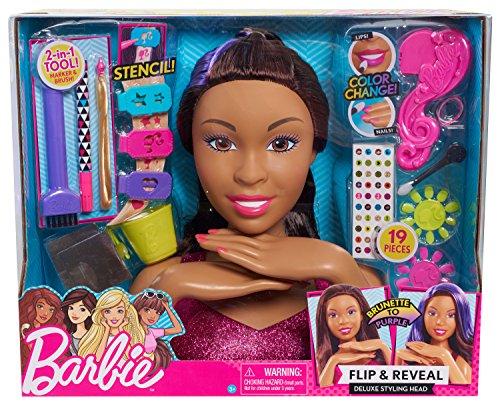 Barbie 62585 Deluxe Styling Head - AA, Multicolor
