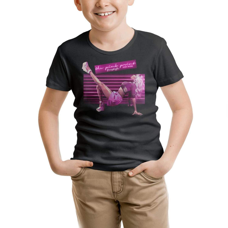 UIIE Kids Nicki-Minaj-Fashion-The-Pinkprint Short Sleeve Organic Tshirts