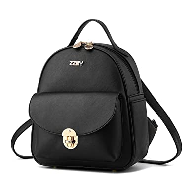 Amazon.com  Fayland Women Teens Girls Womens Backpack Purse Leather Mini  Casual Daypack Laptop Bag Black  Shoes fd4b311d0ab94