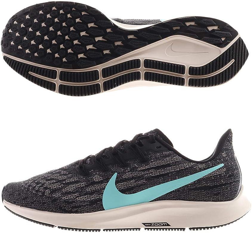 Nike Air Zoom Pegasus 36, Zapatillas de Running Hombre, Black/Aurora Green/Pumice/Phantom, 40.5 EU: Amazon.es: Zapatos y complementos