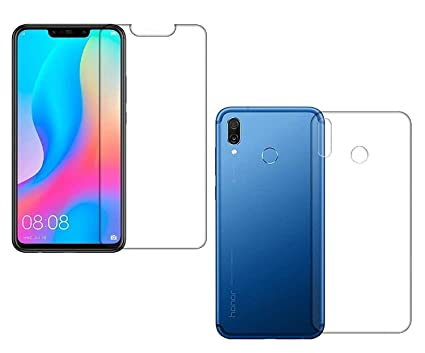 FIRST MART Honor Huawei Nova 3i (Front and Back) Hammer Proof Flexiable  Nano Film Impossible Screen Protector Screen Guard for Honor Huawei Nova 3i