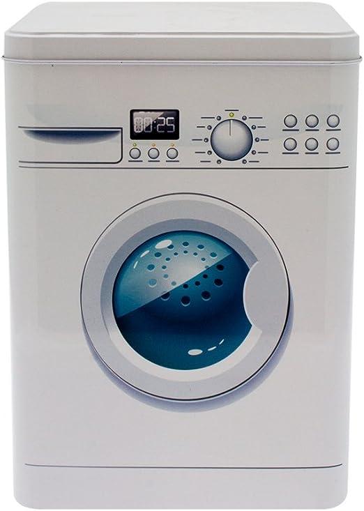 Caja metálica para detergente metal para cápsulas: Amazon.es: Hogar
