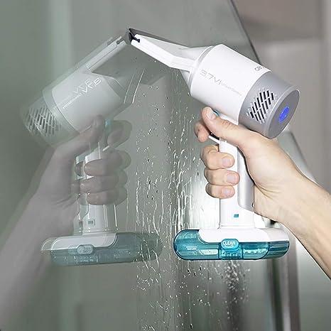 Cecotec Conga Immortal Extreme 3,7V Glass Hand Aspirador de Ventanas, Limpia en 3 Fases, Autonomía de 30 Minutos, Incluye pulverizador