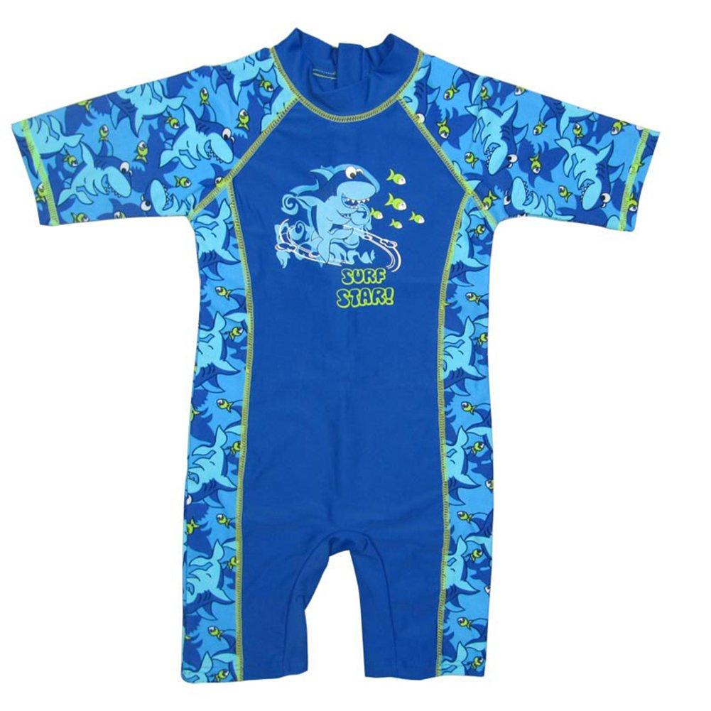Banner Bonnie Boys' Neck to Knee Surf Shorty Wetsuit Swim Suit UPF50+