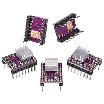 Electrely 5 Piezas DRV8825 Motor de Pasos Módulo 4 Capas Placa PCB ...