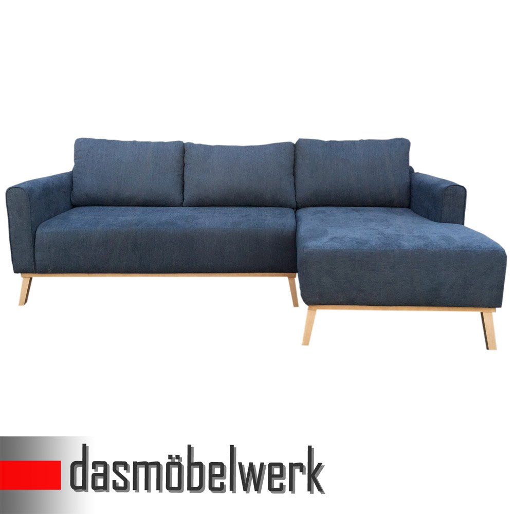 dasm belwerk polsterecke ecksofa couch eckcouch l form sofa 2 55 m petrol ottomane reclair. Black Bedroom Furniture Sets. Home Design Ideas