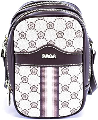 Saga Polyester Clutches bag For Unisex - beige